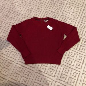 🌟last chance🌟banana republic burgundy sweater